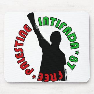Intifada libre de Palestina Mousepads