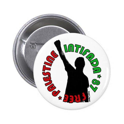 Intifada libre de Palestina Pin