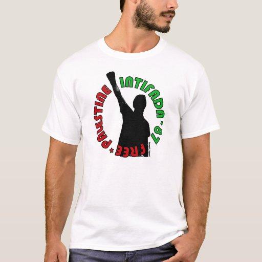Intifada libre de Palestina Playera