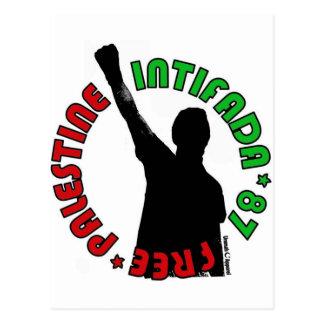 Intifada libre de Palestina Postales