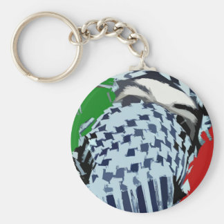 Intifada Palestina 87 Llavero Redondo Tipo Pin