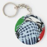 Intifada Palestine 87 Basic Round Button Keychain