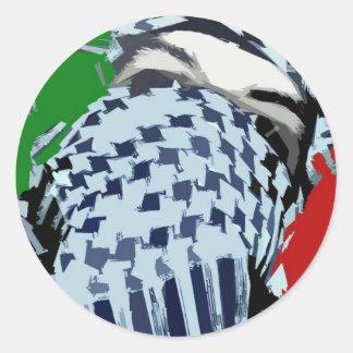 Intifada Palestine 87 Classic Round Sticker