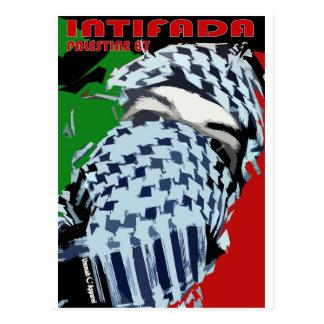 Intifada Palestine 87 Postcard
