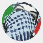 Intifada Palestine 87 Round Sticker