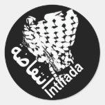 Intifada Pegatina Redonda