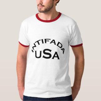INTIFADA USA Ringer T-shirt