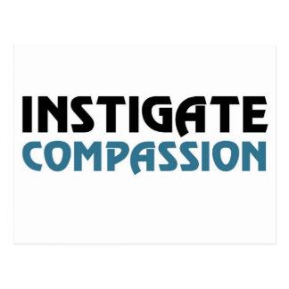 Intigate Compassion (The Great Karma Edition) Postcard