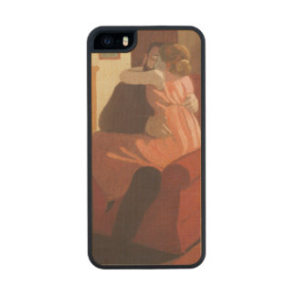 Intimacy Couple in an Interior with a Carved® Maple iPhone 5 Slim Case