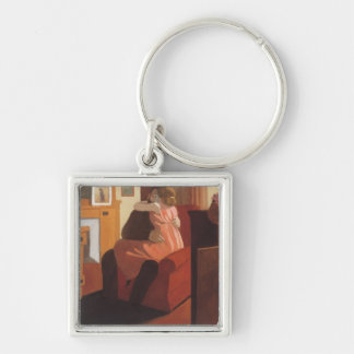 Intimacy Couple in an Interior with a Keychain