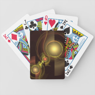 Intimate Connection Abstract Art Bicycle Playing Cards