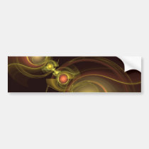 intimate, connection, abstract, art, bumper, sticker, Bumper Sticker with custom graphic design