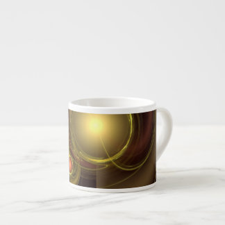 Intimate Connection Abstract Art Espresso Mug