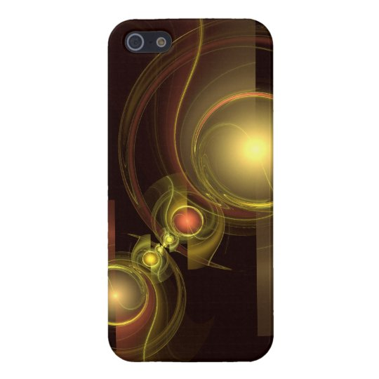 Intimate Connection Abstract Art iPhone SE/5/5s Cover