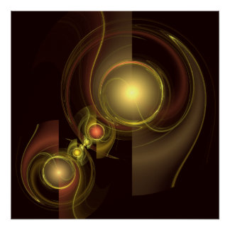 Intimate Connection Abstract Art Print