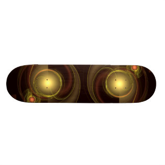 Intimate Connection Abstract Art Skateboard