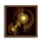Intimate Connection Abstract Art Square Envelope