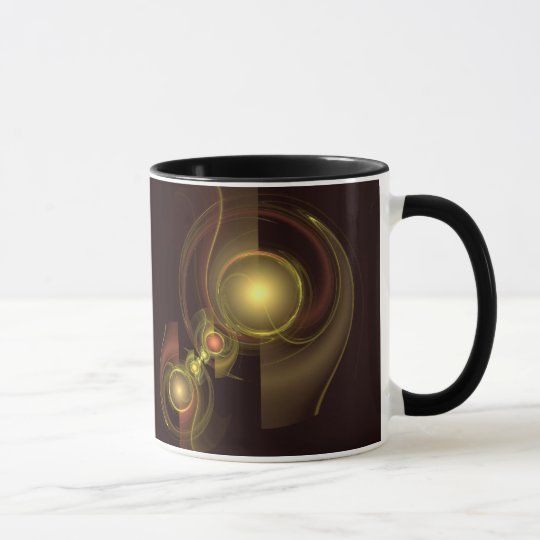 Intimate Connection Abstract Coffee Mug