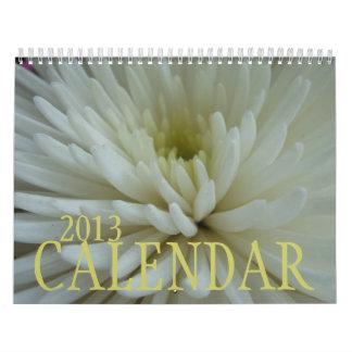 Intimate Florals Calendar