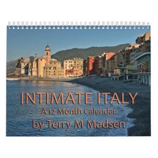 Intimate Italy Calendar