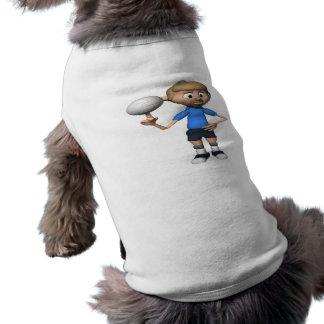 Intimidación del voleibol camisa de perrito
