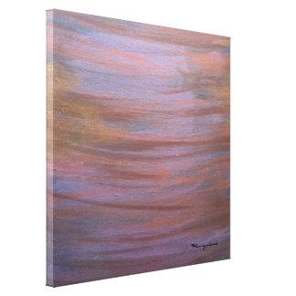 Intimidating Modern Original Handpainted Abstract Canvas Print