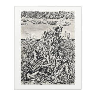 Intimidation, by Brian Benson Acrylic Print
