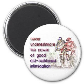 Intimidation Dirt Bike Motocross Fridge Magnet