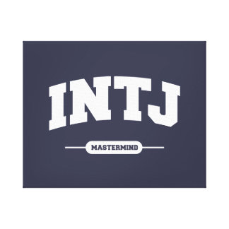 INTJ - Mastermind - University Style Canvas Print