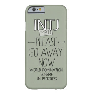 INTJ Masterminds Barely There iPhone 6 Case