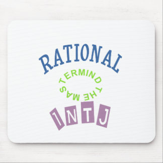 INTJ Rational Personality Mouse Pad