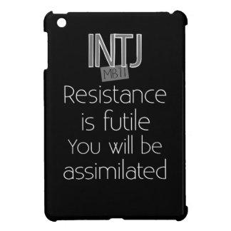 INTJ Resistance is Futile iPad Mini Cover