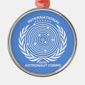 Int'l Astronaut Corps Metal Ornament