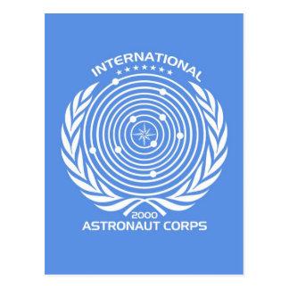 Int'l Astronaut Corps Postcard