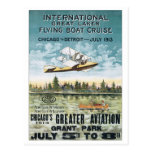 Int'l Great Lakes Flying Boat Cruise Postcards
