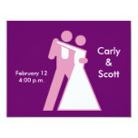 Int'l Sign for Bride & Groom 4.25x5.5 Paper Invitation Card