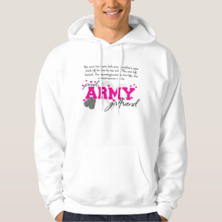 Into a Soldier's eyes - Proud Army Girlfriend Hoodie