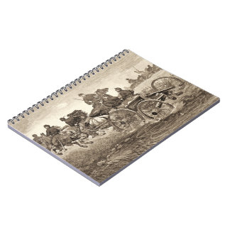 Into Action 1887 Spiral Notebooks