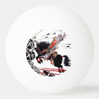 Into Battle ping pong ball