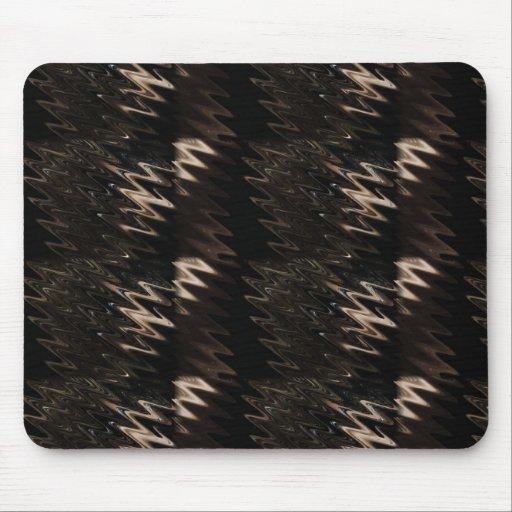 Into black ones mousepad