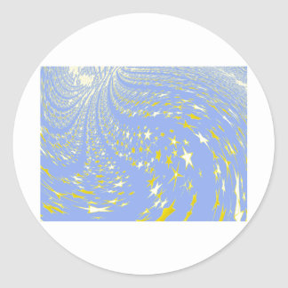 Into_Infinity resized.PNG Classic Round Sticker