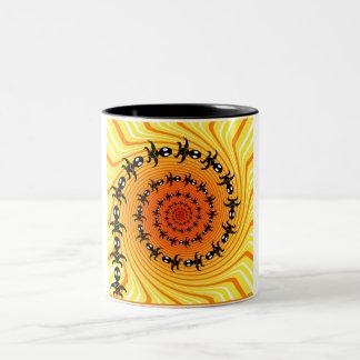 Into Infinity Two-Tone Coffee Mug