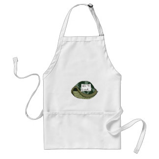 into lunch adult apron