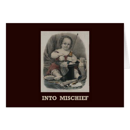 Into mischief Card