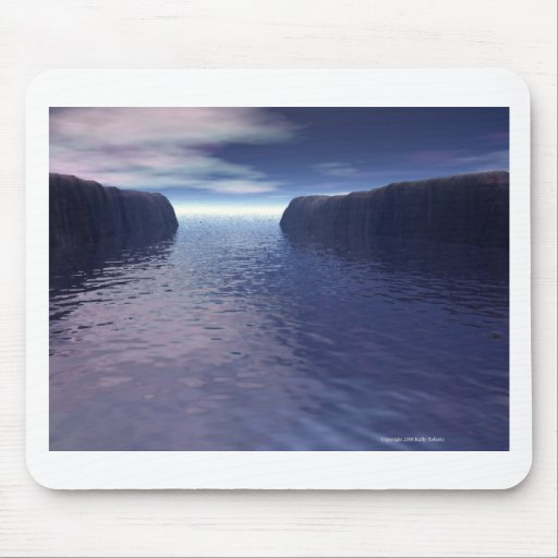 Into Open Sea Mouse Pad