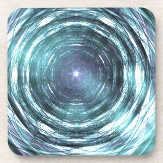 Into the black hole drink coaster