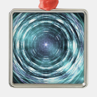 Into the black hole metal ornament