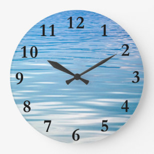 Lake House Wall Clocks Zazzle