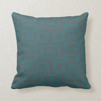 into the blue pillow
