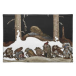 Into the Christmas Night - Cloth Placemat